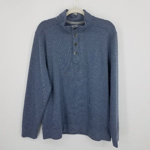 Tommy Bahama Quarter button-up sweatshirt